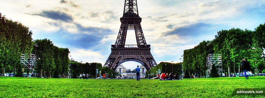 Eiffel Tower Paris {Cities & Landmarks Facebook Timeline Cover Picture, Cities & Landmarks Facebook Timeline image free, Cities & Landmarks Facebook Timeline Banner}