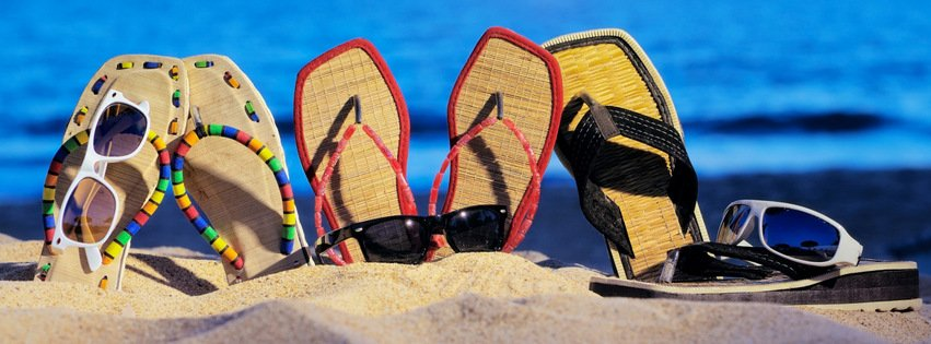 Sandals and Sunglasses {Other Facebook Timeline Cover Picture, Other Facebook Timeline image free, Other Facebook Timeline Banner}