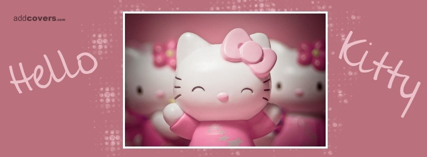 Hello Kitty Smiling  {Cute Facebook Timeline Cover Picture, Cute Facebook Timeline image free, Cute Facebook Timeline Banner}