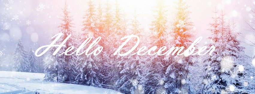 Hello December {Scenic & Nature Facebook Timeline Cover Picture, Scenic & Nature Facebook Timeline image free, Scenic & Nature Facebook Timeline Banner}