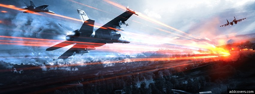 Battlefield 3 Planes Facebook Covers