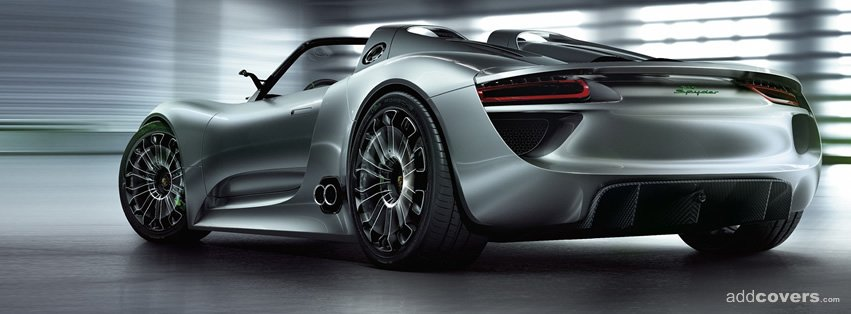Porsche 918 Spyder Facebook Covers