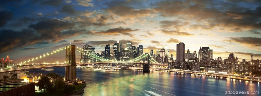 Brooklyn Bridge {Scenic & Nature Facebook Timeline Cover Picture, Scenic & Nature Facebook Timeline image free, Scenic & Nature Facebook Timeline Banner}