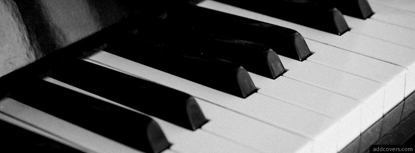 Piano Keys {Music Facebook Timeline Cover Picture, Music Facebook Timeline image free, Music Facebook Timeline Banner}