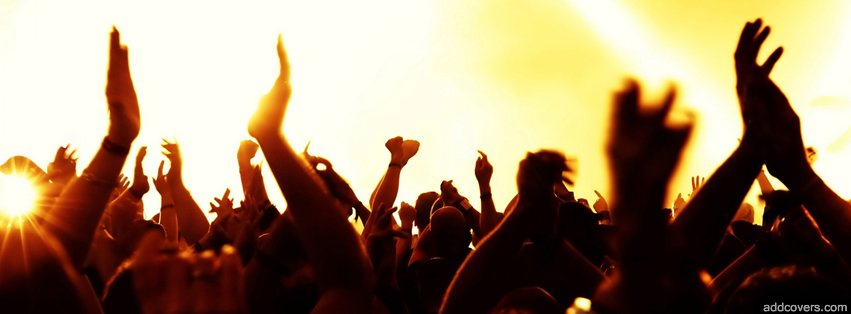 Concert Hands in the hair {Music Facebook Timeline Cover Picture, Music Facebook Timeline image free, Music Facebook Timeline Banner}