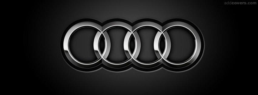 AUDI LOGO {Logos & Brands Facebook Timeline Cover Picture, Logos & Brands Facebook Timeline image free, Logos & Brands Facebook Timeline Banner}