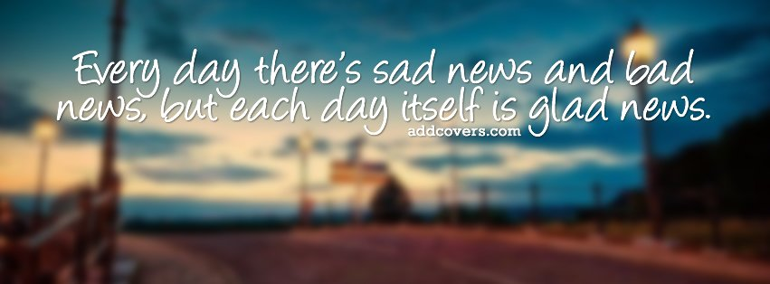 Facebook Cover Photos With Quotes Cool Life Quotes Facebook Covers For Timeline