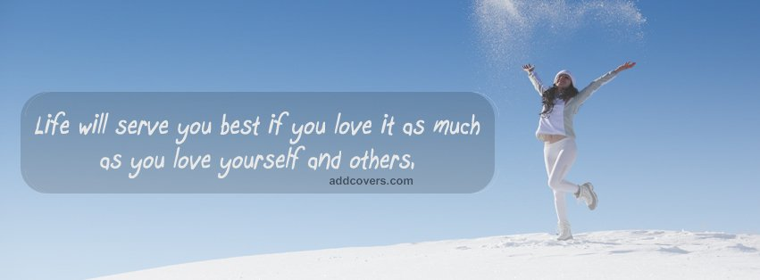 Love others {Life Quotes Facebook Timeline Cover Picture, Life Quotes Facebook Timeline image free, Life Quotes Facebook Timeline Banner}