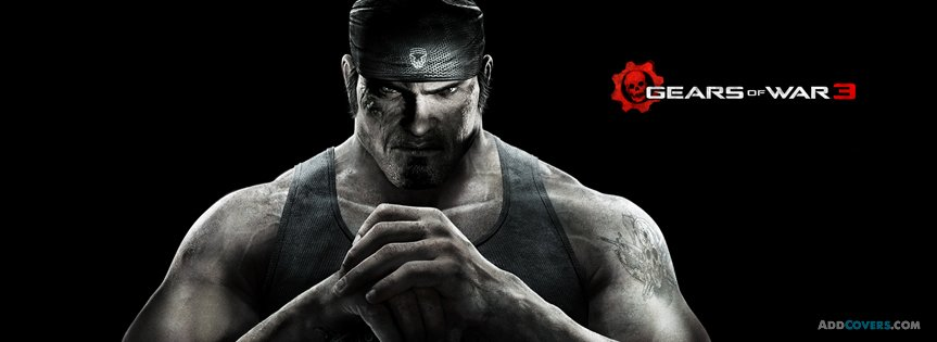 Gears of War 3 {Video Games Facebook Timeline Cover Picture, Video Games Facebook Timeline image free, Video Games Facebook Timeline Banner}
