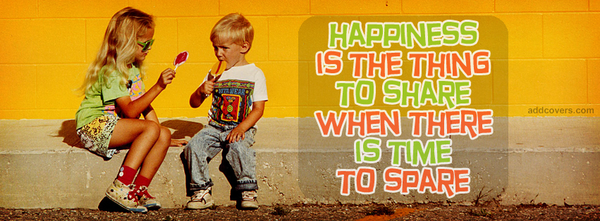 Share Happiness Facebook Covers