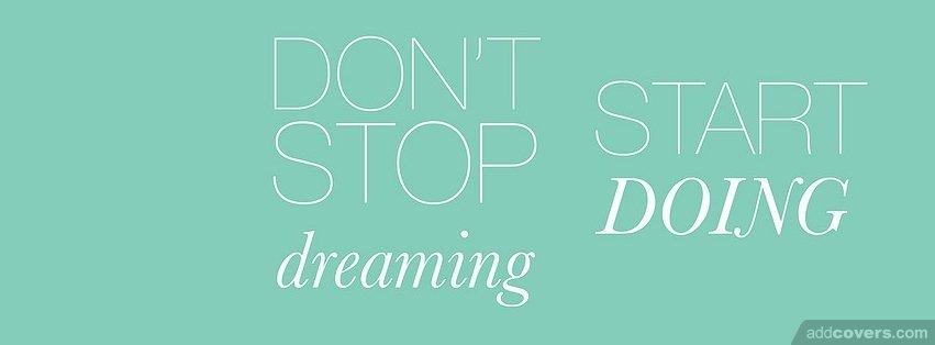start doing {Inspirational Facebook Timeline Cover Picture, Inspirational Facebook Timeline image free, Inspirational Facebook Timeline Banner}