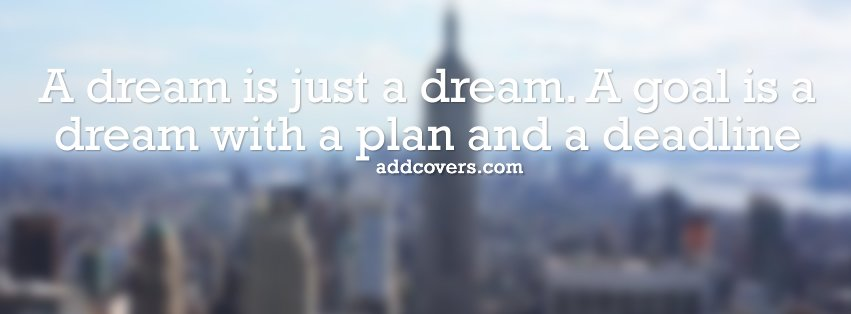 Plan and a Deadline {Advice Quotes Facebook Timeline Cover Picture, Advice Quotes Facebook Timeline image free, Advice Quotes Facebook Timeline Banner}