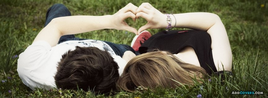 Couple Heart Facebook Covers