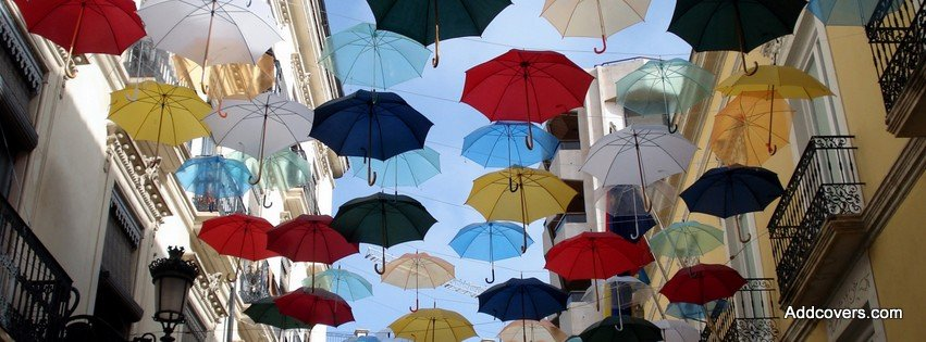 Umbrella Street {Cities & Landmarks Facebook Timeline Cover Picture, Cities & Landmarks Facebook Timeline image free, Cities & Landmarks Facebook Timeline Banner}