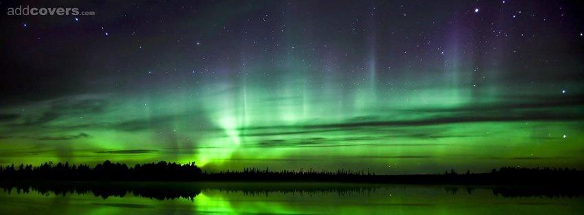 Sky Green Green Night Sky {scenic