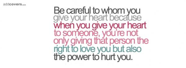 Be careful to...