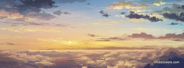 Sunset Clouds Painting
