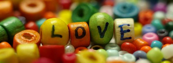 Colorful Love Beads
