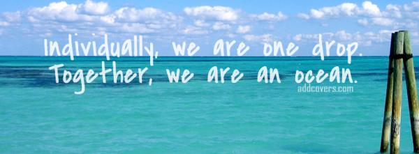 We are an ocean