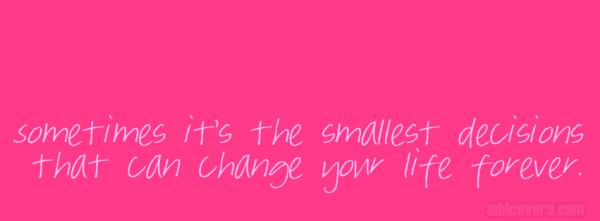 Pink Life Quote