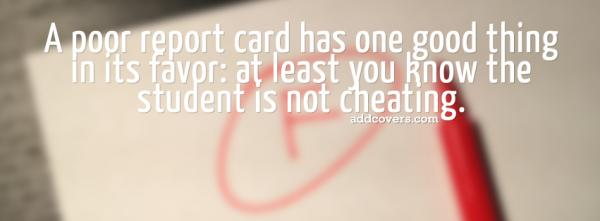 report card facebook covers for timeline