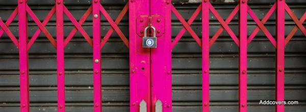 Pink Forged Gates