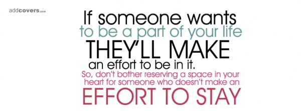 if someone wants to be...