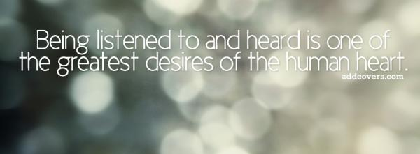 Greatest desires of the human heart