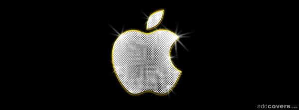 Apple Logo Bling