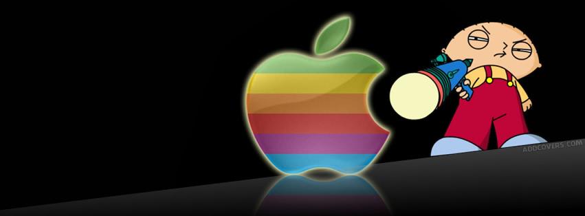 Stewie hates Mac {Logos & Brands Facebook Timeline Cover Picture, Logos & Brands Facebook Timeline image free, Logos & Brands Facebook Timeline Banner}
