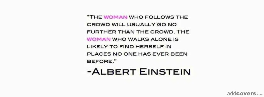 Woman who walk alone {Inspirational Facebook Timeline Cover Picture, Inspirational Facebook Timeline image free, Inspirational Facebook Timeline Banner}