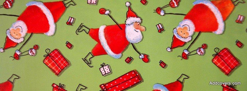 Little Santas {Holidays Facebook Timeline Cover Picture, Holidays Facebook Timeline image free, Holidays Facebook Timeline Banner}