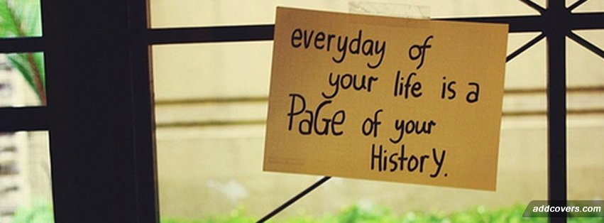 Page of your History {Others Facebook Timeline Cover Picture, Others Facebook Timeline image free, Others Facebook Timeline Banner}