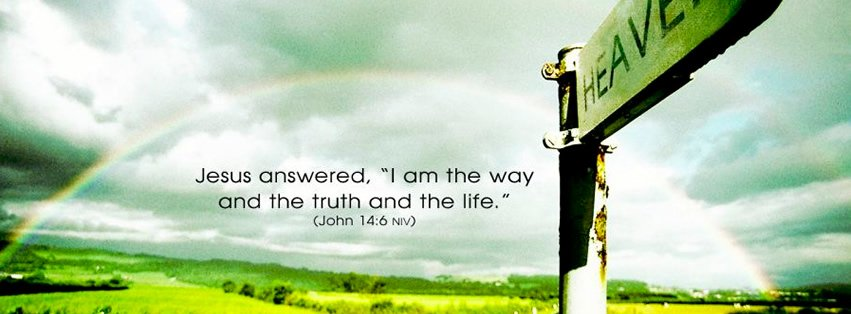 Jesus is the way Facebook Covers