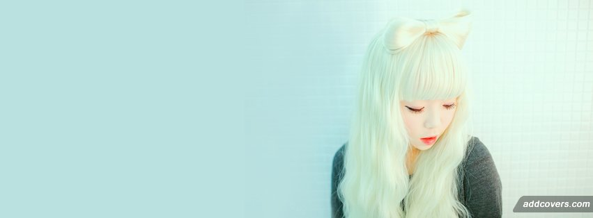 Asian Blonde Facebook Covers