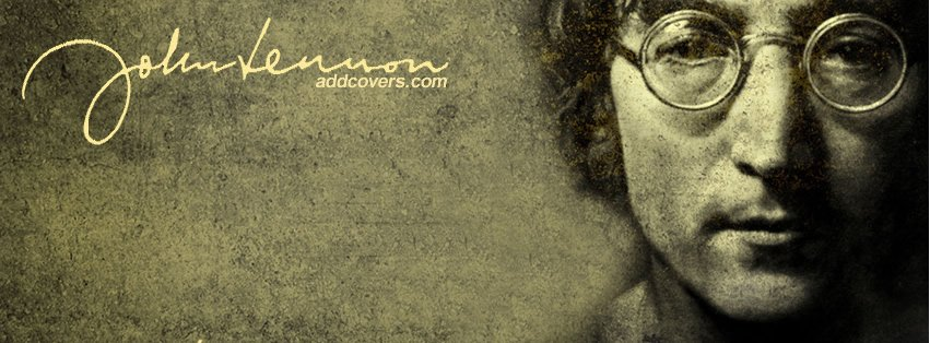 John Lennon Facebook Covers