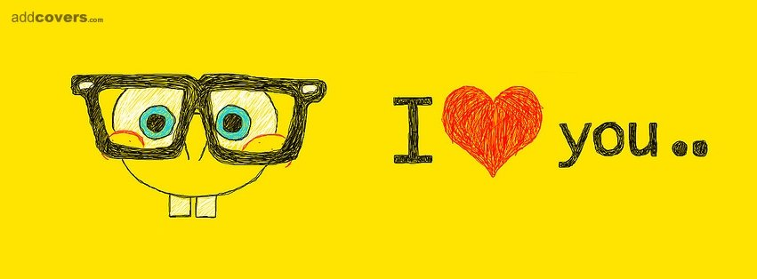 I love you {Love Facebook Timeline Cover Picture, Love Facebook Timeline image free, Love Facebook Timeline Banner}