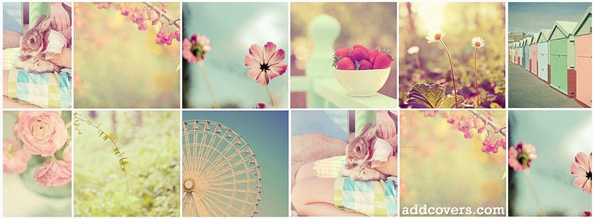 girly collage facebook covers for timeline