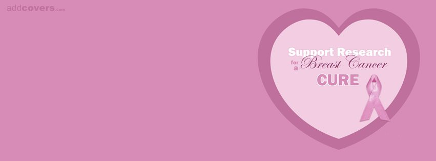 Support Breast Cancer Research {Awareness Facebook Timeline Cover Picture, Awareness Facebook Timeline image free, Awareness Facebook Timeline Banner}