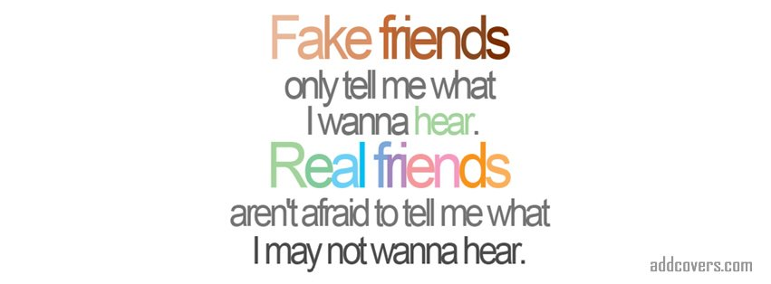 fake friends {Friendship Facebook Timeline Cover Picture, Friendship Facebook Timeline image free, Friendship Facebook Timeline Banner}