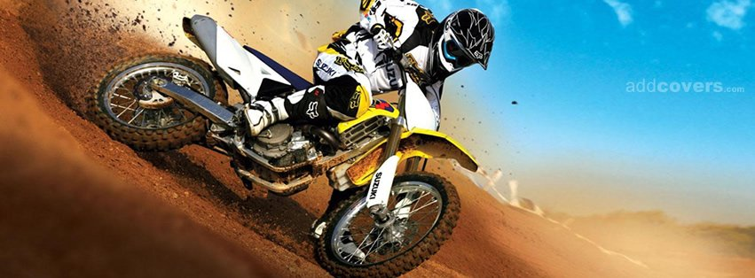 Dirt Bike Facebook Covers