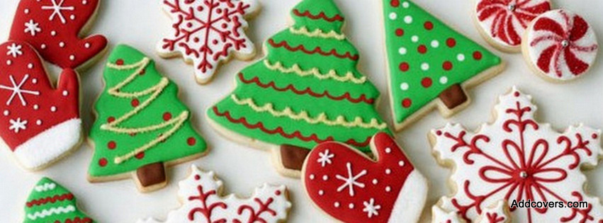 Holiday Cookies Facebook Covers for Timeline.