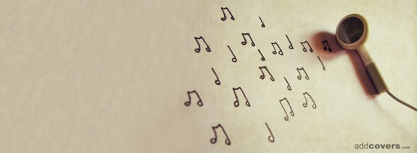 Headphones Music Facebook Covers