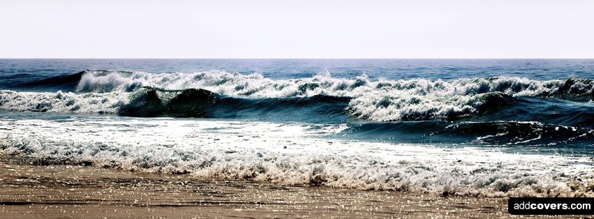 Ocean Waves {Scenic & Nature Facebook Timeline Cover Picture, Scenic & Nature Facebook Timeline image free, Scenic & Nature Facebook Timeline Banner}