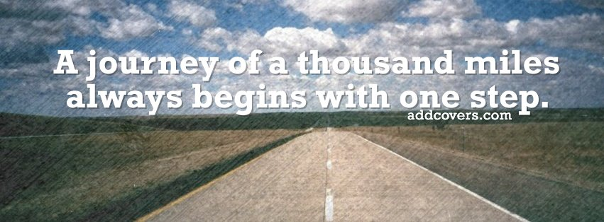 One Step {Life Quotes Facebook Timeline Cover Picture, Life Quotes Facebook Timeline image free, Life Quotes Facebook Timeline Banner}