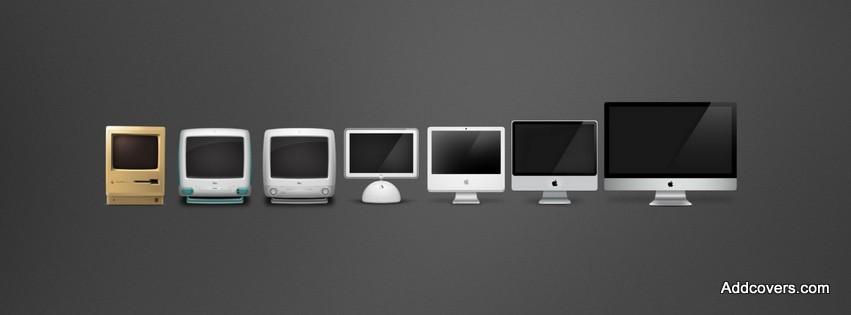 Macintosh Evolution {Electronic & DJs Facebook Timeline Cover Picture, Electronic & DJs Facebook Timeline image free, Electronic & DJs Facebook Timeline Banner}