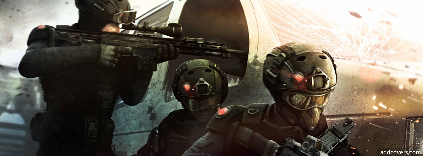 Tom Clancy's Rainbow 6 Facebook Covers