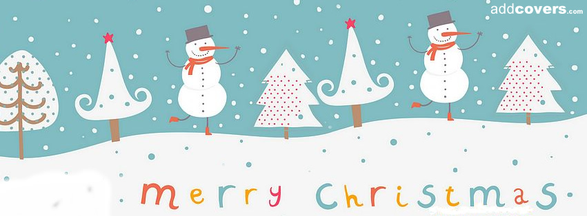 Merry Christmas Facebook Covers for Timeline.