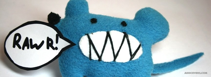 Rawr Toy {Cute Facebook Timeline Cover Picture, Cute Facebook Timeline image free, Cute Facebook Timeline Banner}